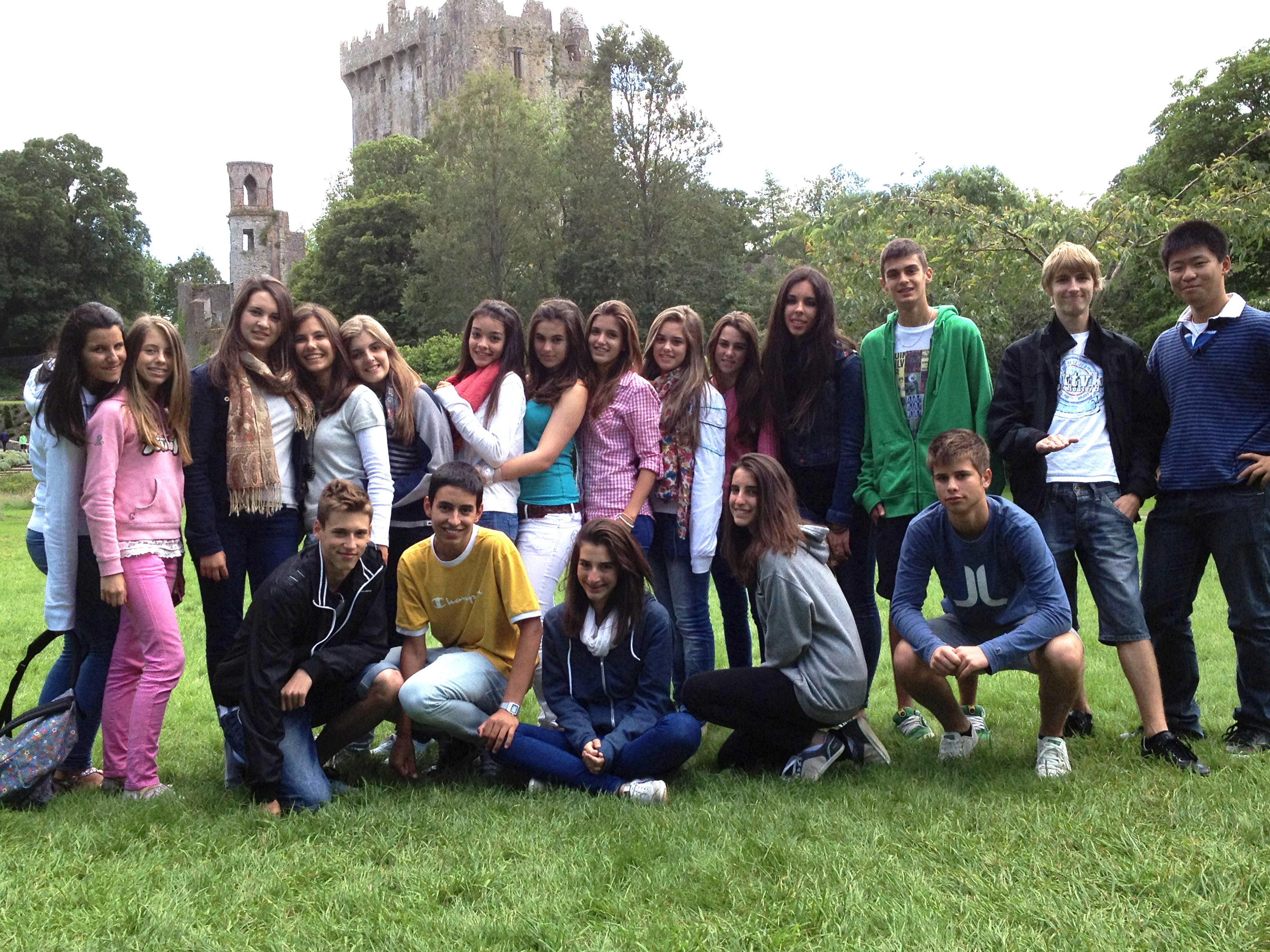 Alumnos de La Casa Irlandesa